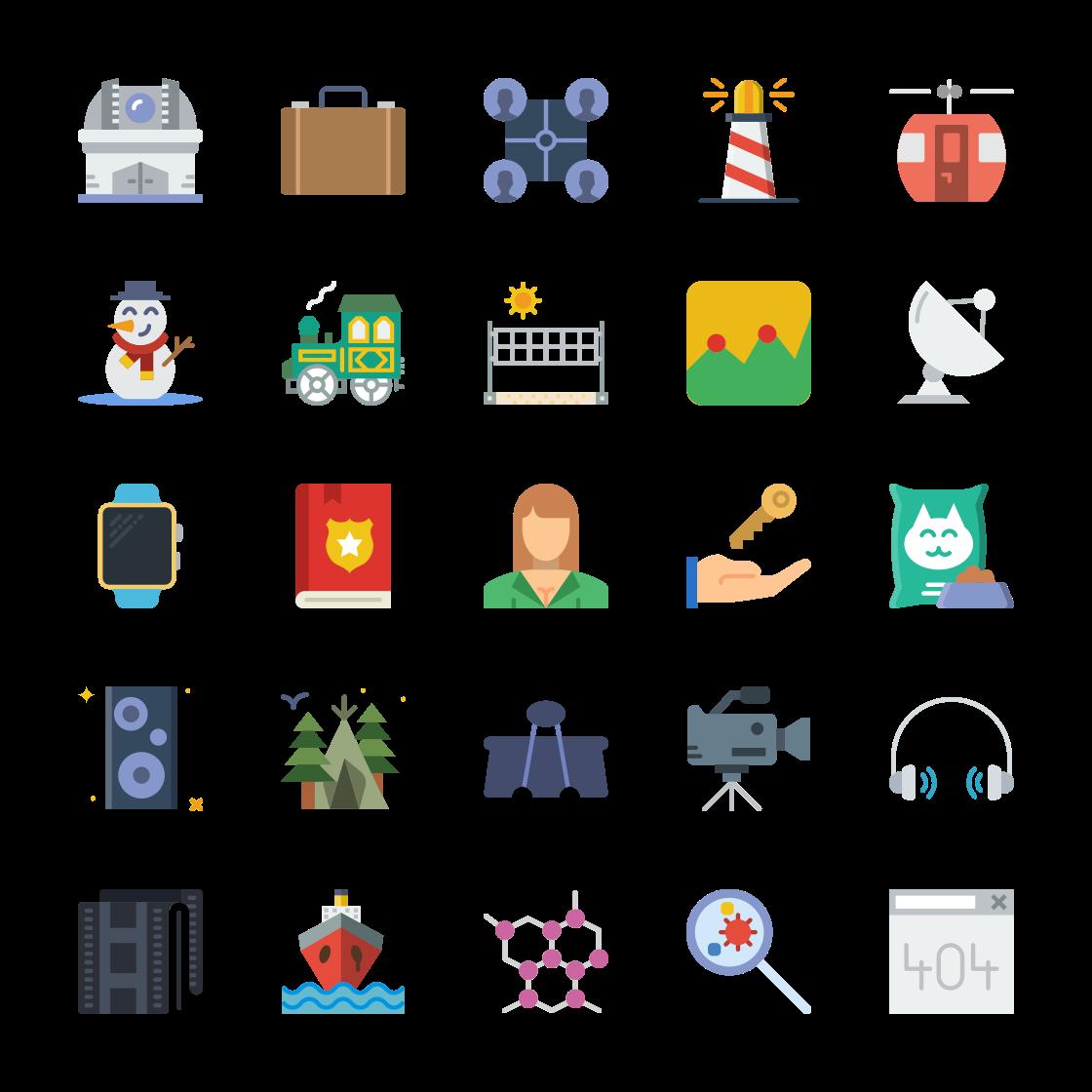 Flat Icons Bundle