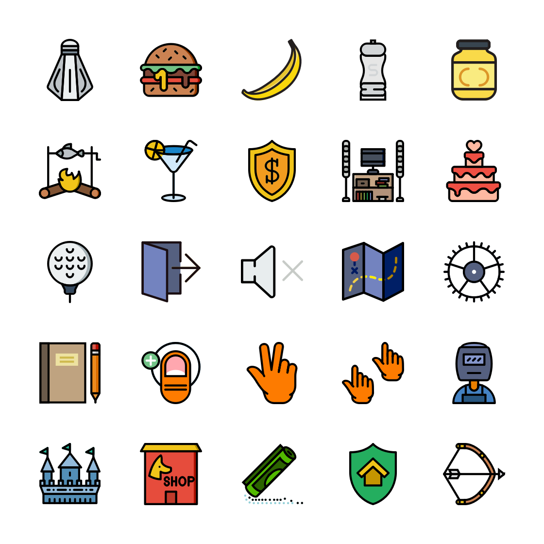 Retro Icons Bundle