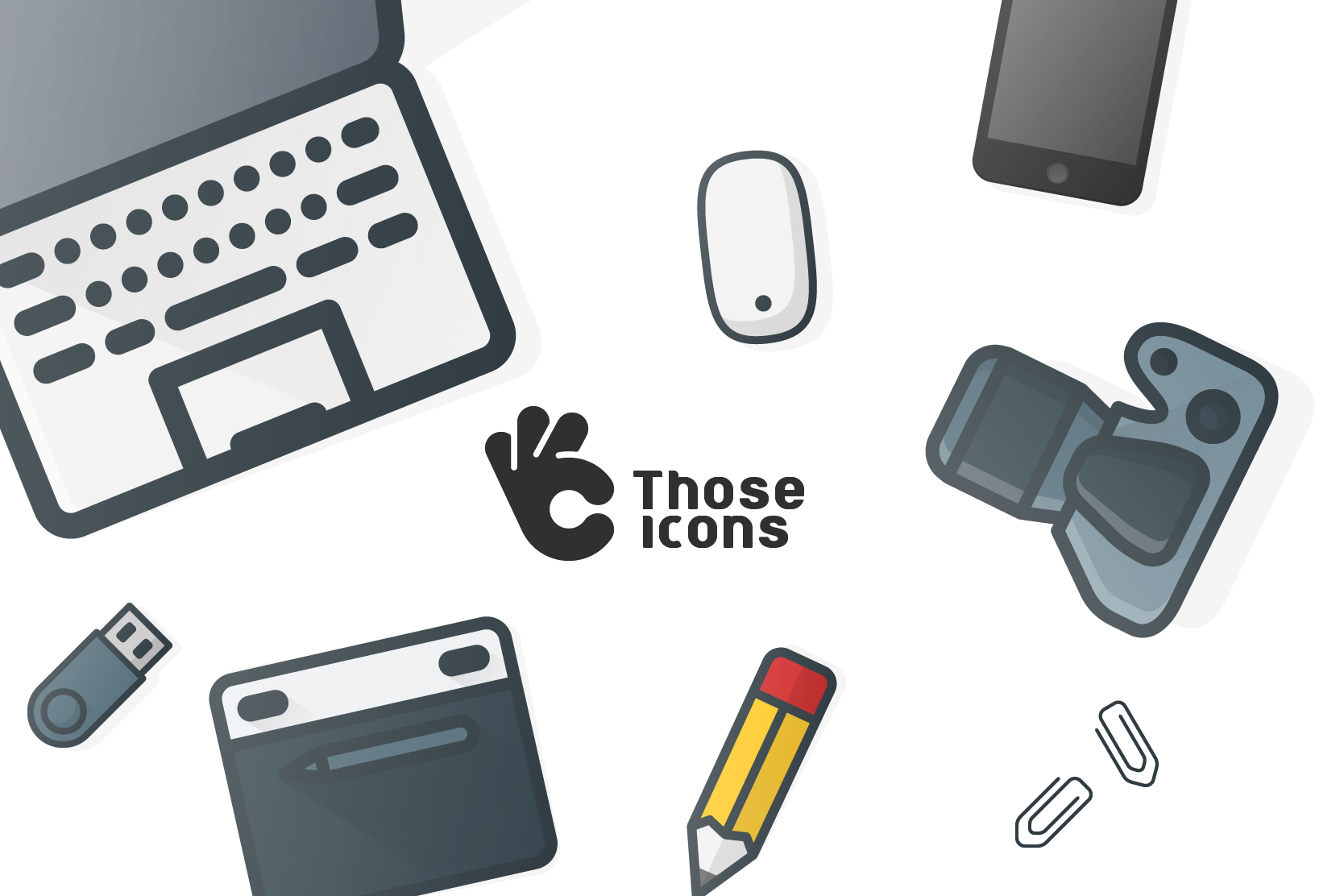 Color Outline Icons Bundle