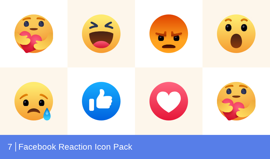 Download Facebook Reaction Icon Pack Available In Svg Png Eps Ai Icon Fonts