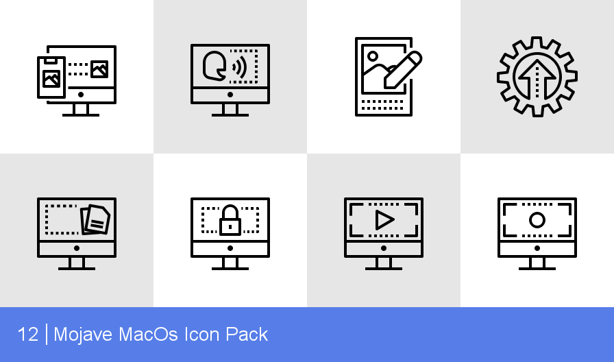 Mojave MacOs Icon Pack