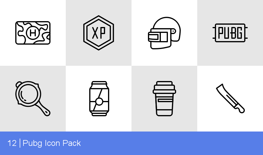 Download Pubg Icon pack - Available in SVG, PNG, EPS, AI