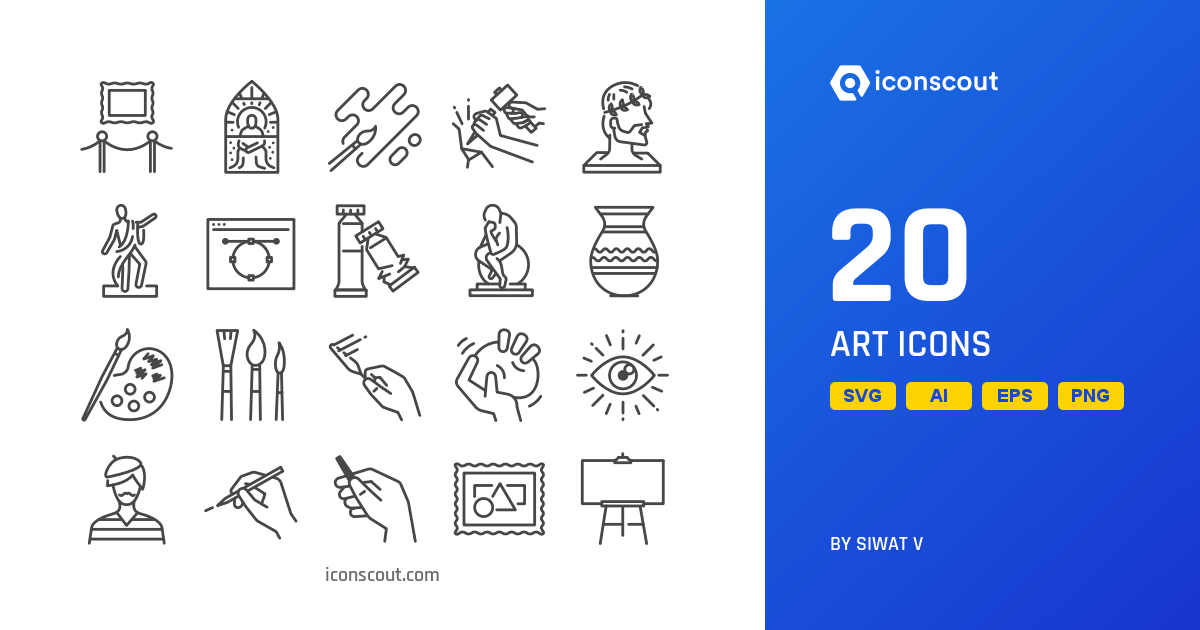 Download Download Art Icon pack - Available in SVG, PNG, EPS, AI ...