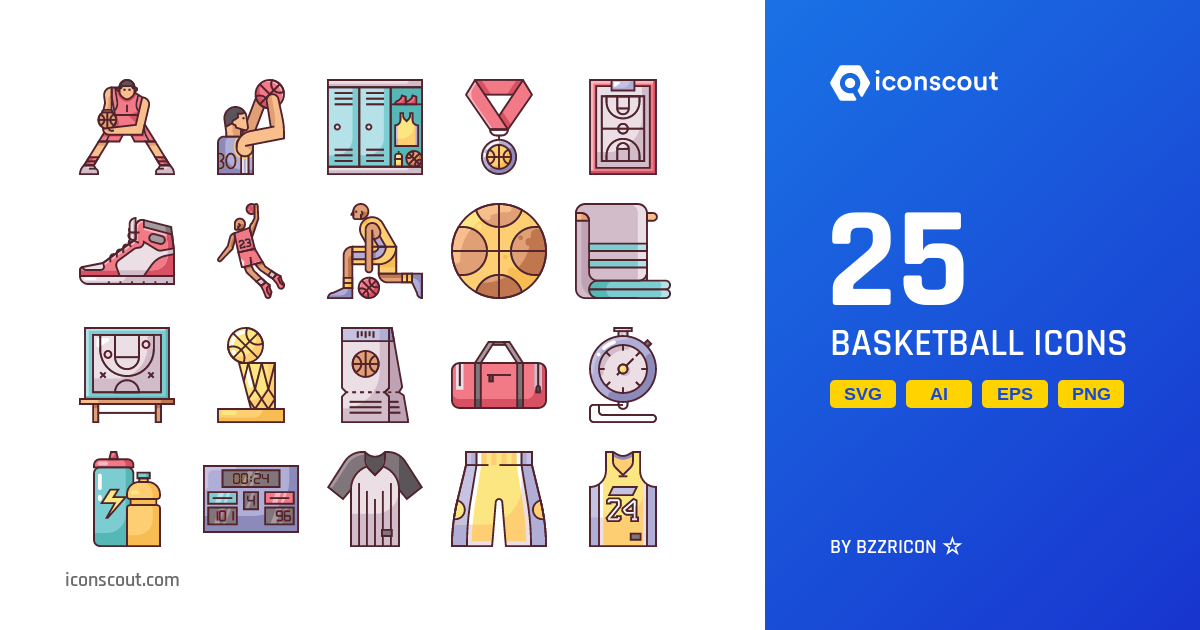 Basket Ball Icons