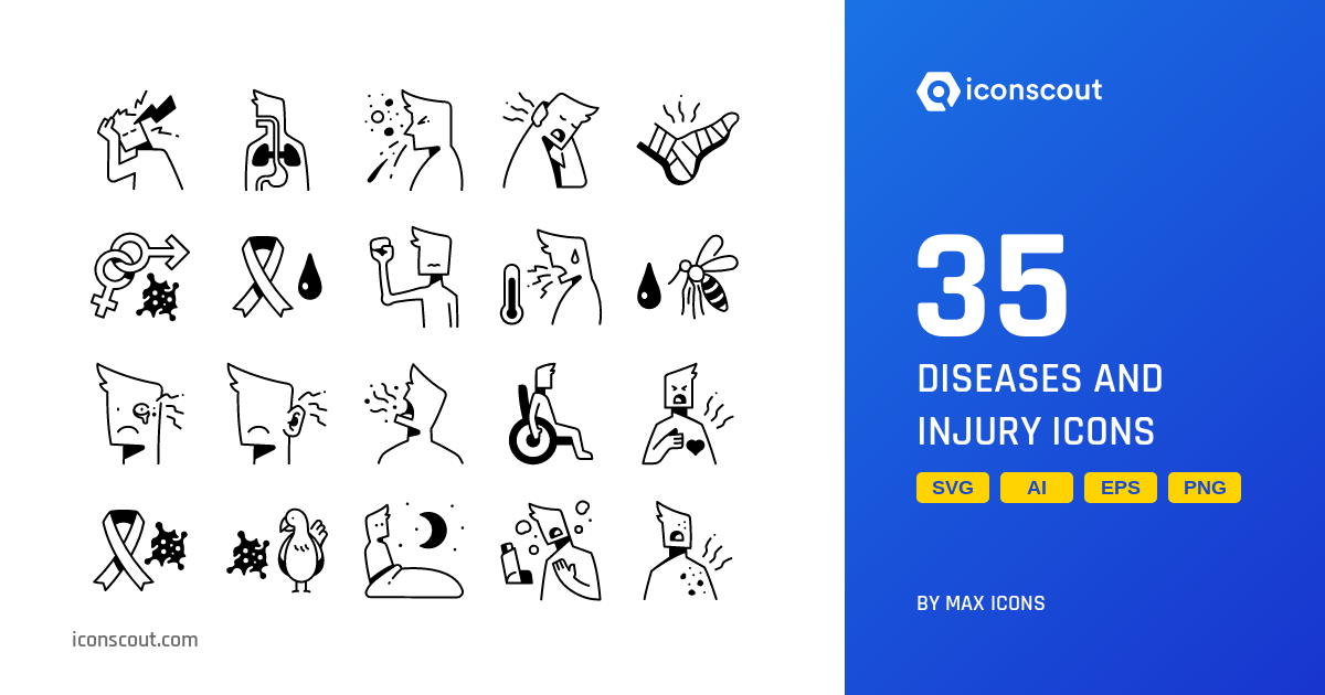 Disease And Injury Icons