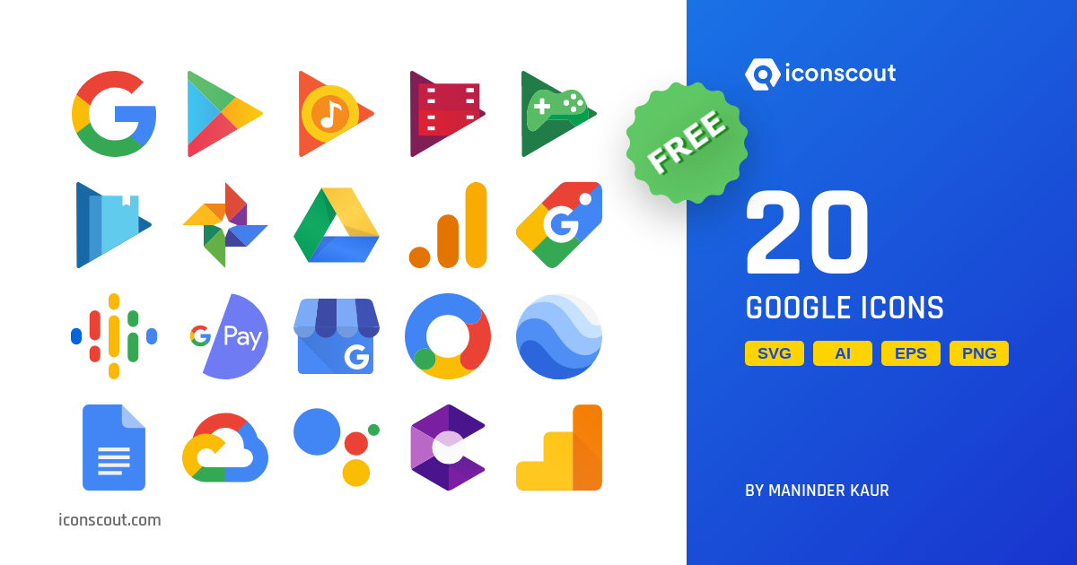 Download Download Google Icon pack - Available in SVG, PNG, EPS, AI ...