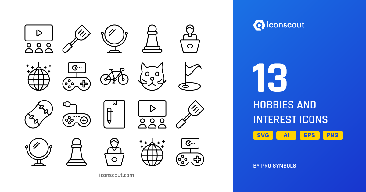 And interests hobbies List of