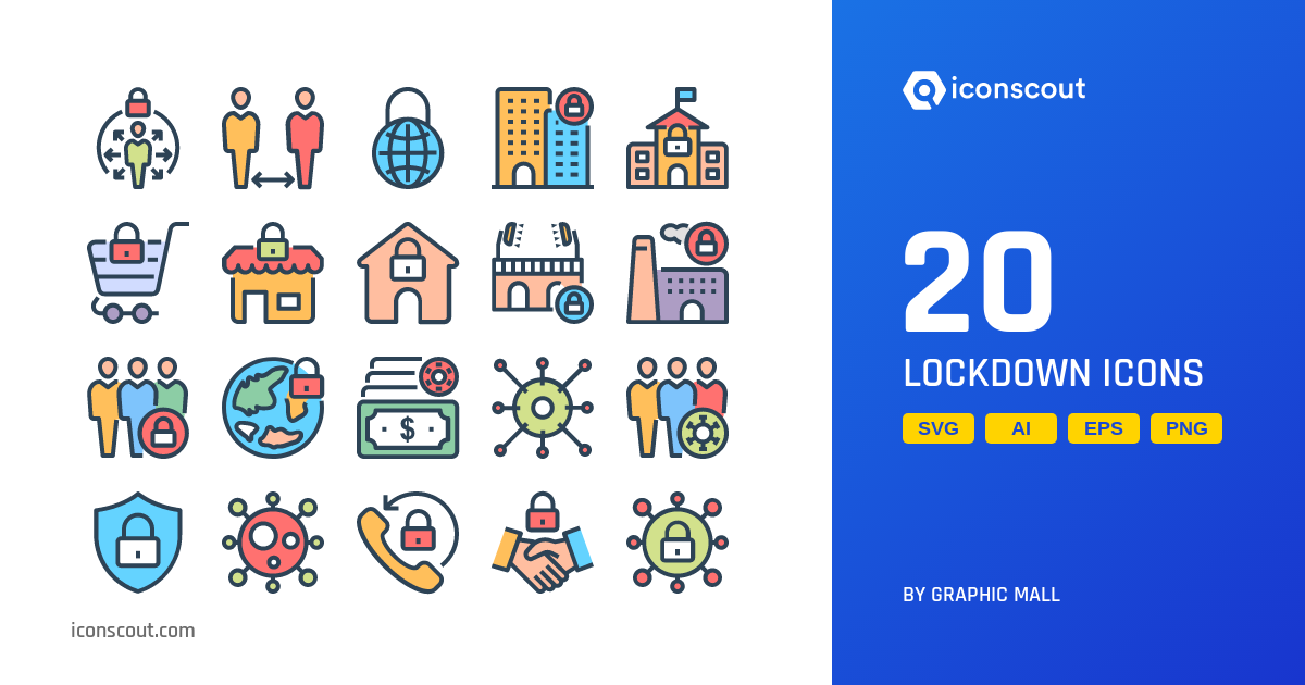 Download Lockdown Icon Pack Available In Svg Png Eps Ai Icon Fonts