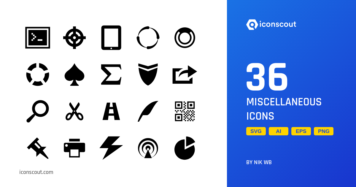 Download Download Miscellaneous Icon pack - Available in SVG, PNG ...
