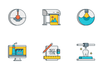 3D Printing Icon Pack