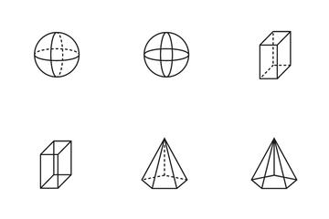 3D Shape Icon Pack