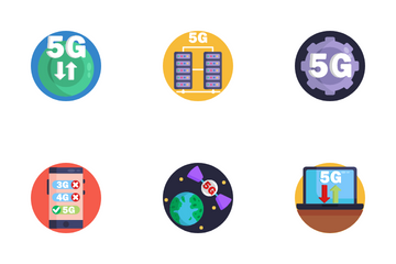 5G Icon Pack