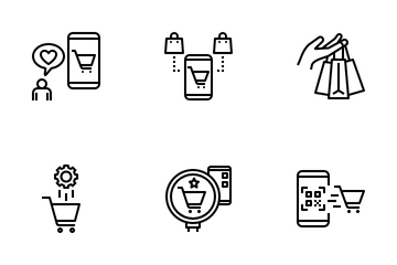 A-Commerce (Automated Commerce) Icon Pack