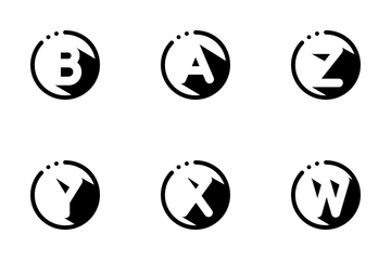 ABC Shadow Icon Pack