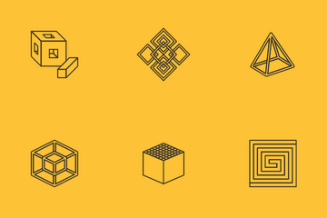 Abstract Geometry Icon Pack