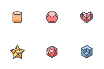 Abstract Polygon Icon Pack