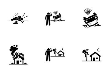 Accident Icon Pack
