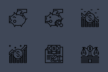 Accounting Icon Pack