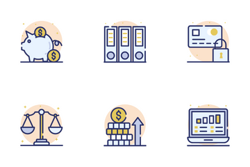 Accounting And Finance Icon Pack