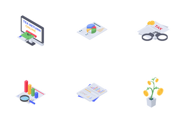 Accounting And Tax Icon Pack