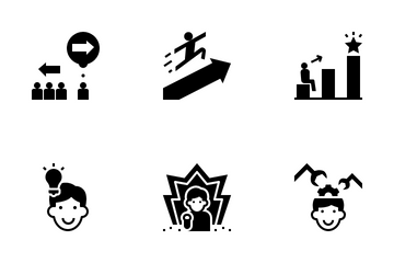Achievement Planning Icon Pack