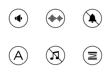 Acoustics  Icon Pack