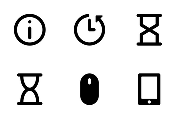 Actions Font Icons 3 Icon Pack