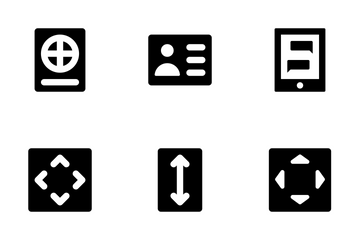 Actions Font Icons 4 Icon Pack