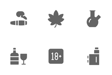 Addiction Icon Pack