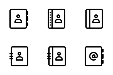 Address Book Icon Pack