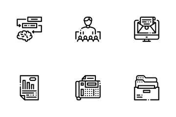 Administrator Business Icon Pack