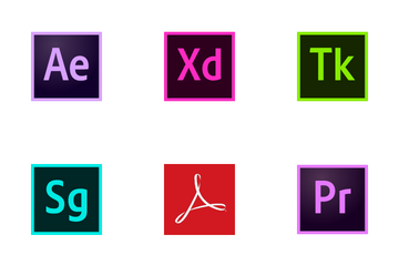 Adobe Products Kit Icon Pack