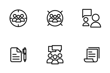 Advertisement - Outline Icon Pack