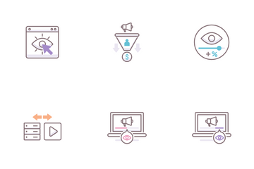 Advertising Agency Icon Pack