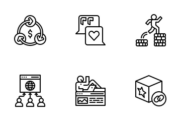 Affiliate Marketing Icon Pack