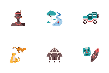 African Safari Icon Pack