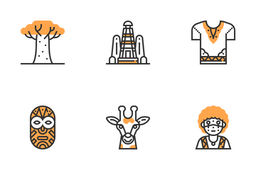 African Symbols  Icon Pack