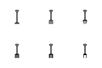 Agricultural Implements Icon Pack