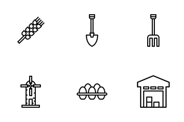 Agriculture And Farming Icon Pack
