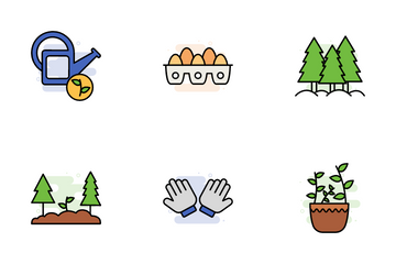 Agriculture & Farming Icon Pack
