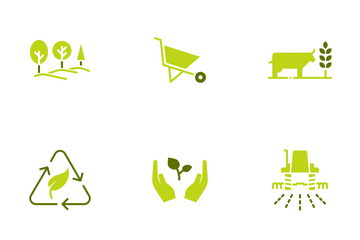 Agriculture & Gardening Icon Pack