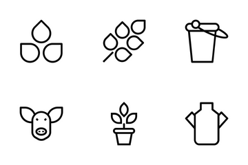 Agriculture Vector Icons Icon Pack