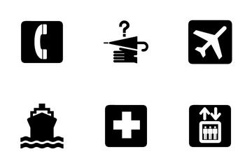 AIGA Symbol Signs Icon Pack
