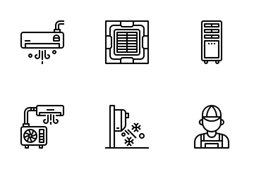 Air Conditioner Icon Pack