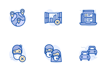 Air Pollution Icon Pack