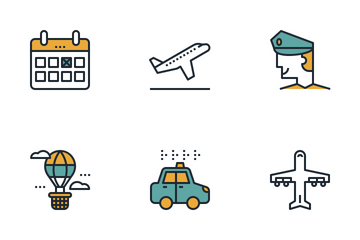 Air Transport Icon Pack