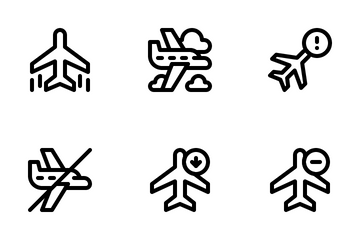 Airplane Icon Pack