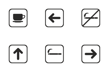 Airport Labels  Icon Pack