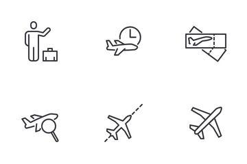 Airport Service Icon Pack
