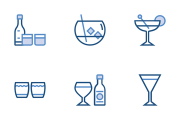 Alcohol Drink Icon Pack